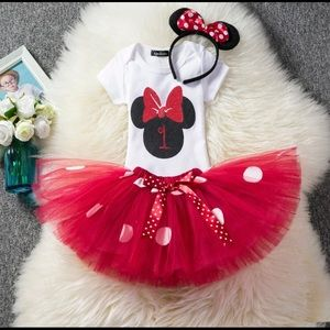 Mickey outfit 3 pieces